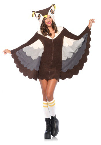 Disfraz cómodo de búho