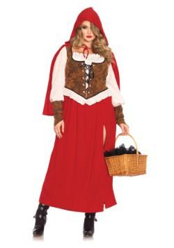 Disfraz de Caperucita Roja de Woodland talla extra