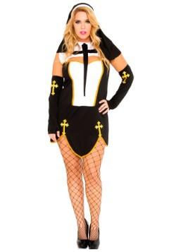 Disfraz para mujer para mujer Plus Size Bad Habit Nun