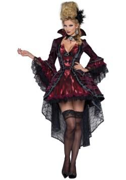 Disfraz elegante de vampiro victoriano para mujer