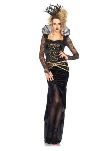 Disfraz de reina malvada de lujo