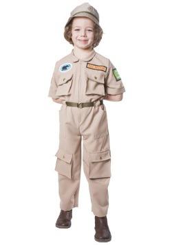 Disfraz de guardián del zoológico Infantil