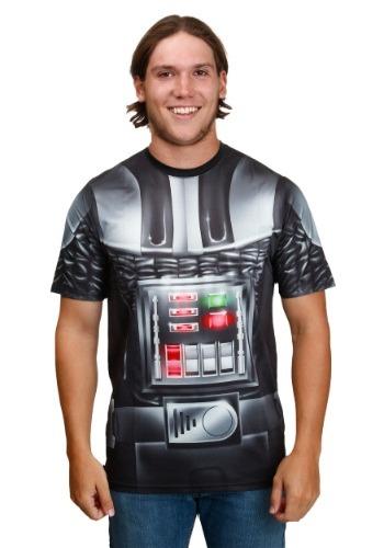 Camiseta Vader Attire Blanco Sublimado de Star Wars