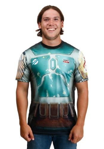 Camiseta sublimada con el atuendo de Boba de Star Wars