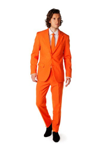 Traje Opposuits naranja para hombre