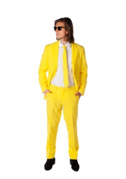 Mente Opposuits traje amarillo