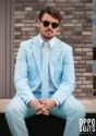 Traje Opposuits Baby Blue para hombre
