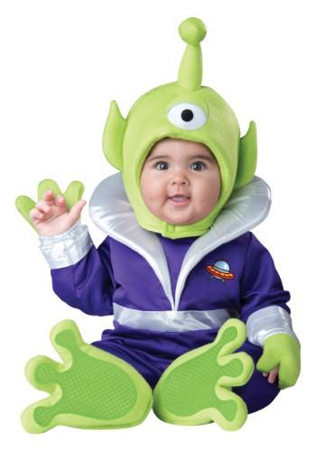 Disfraz marciano para bebé/niño pequeño