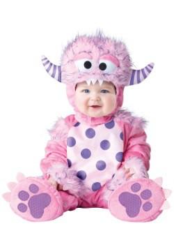 Disfraz de monstruo rosa para bebé/niño pequeño