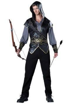 Disfraz de cazador con capucha para hombre