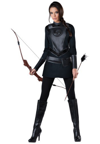 Disfraz para mujer de cazadora guerrera