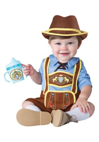 Disfraz de pequeño Lederhosen para bebé/niño pequeño