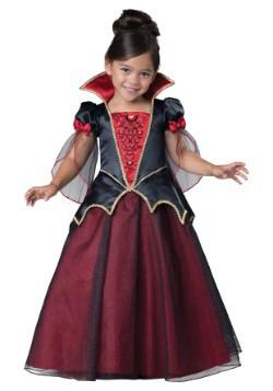 Disfraz de vampiresa para niños pequeños