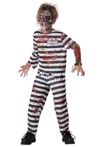 Disfraz infantil de convicto perverso