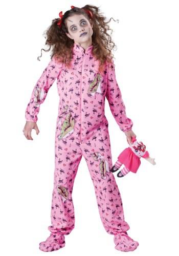 Disfraz de niña Zombie para niños
