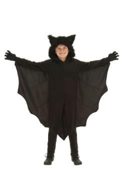 Disfraz infantil de murciélago de forro polar