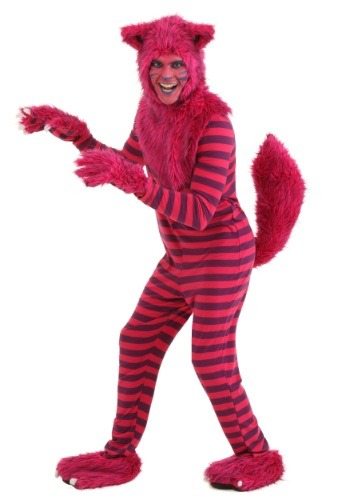 Disfraz de gato Cheshire deluxe para adulto