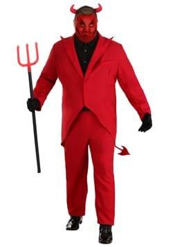 Disfraz de Diablo rojo talla extra