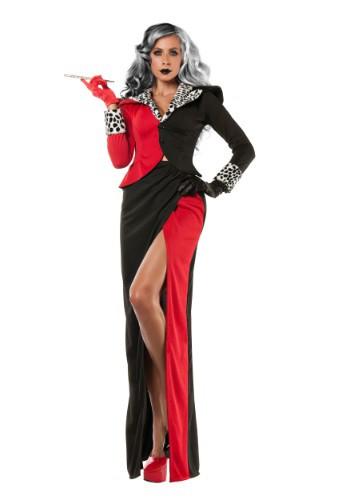 Disfraz de Cruella DeVil para mujer