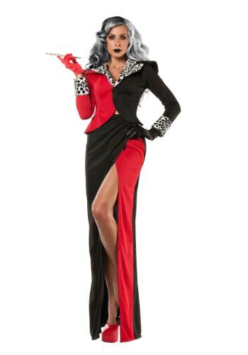 Disfraz de Cruella DeVil Plus Size para mujer