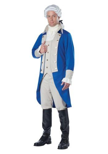 Disfraz de George Washington para adulto