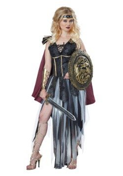 Disfraz de gladiador romano para mujer
