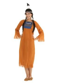 Vestido indio nativo para mujer
