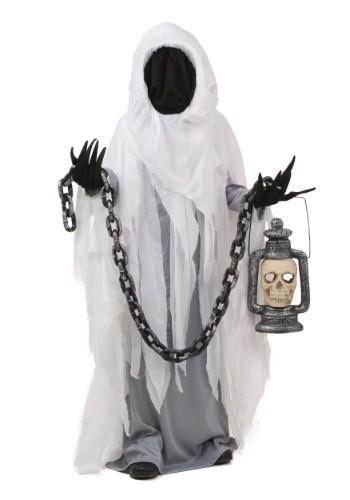 Disfraz infantil de fantasma espeluznante