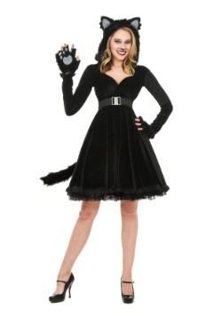 Disfraz de gato negro para mujer