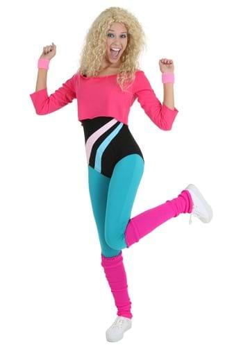 Chica del ejercicio de los 80 para mujer