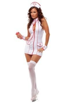 Disfraz de enfermera dinámica para mujer
