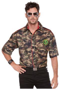 Camisa del ejército para hombre