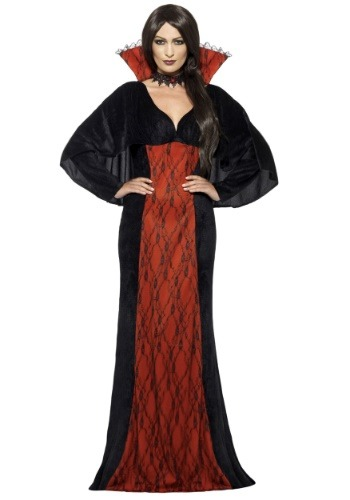 Disfraz para mujer de vampira mística