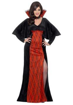 Disfraz de vampiro de mujer talla grande