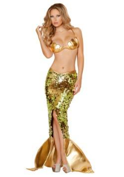 Disfraz para mujer 2 Pzas Sirena sensual del océano
