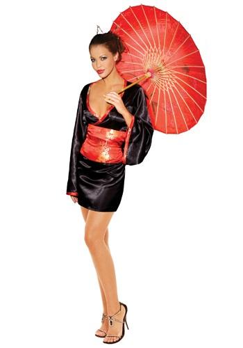 Disfraz de muñeca japonesa sexy