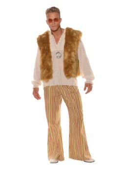 Disfraz Sunny Hippie para hombre talla extra