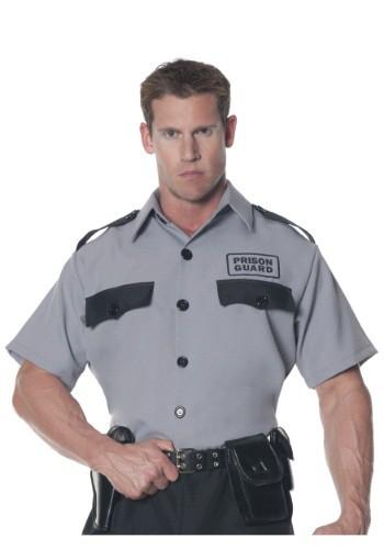 Camisa de guardia de prisión para hombre talla extra