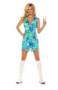 Disfraz pradera de los 70 para mujer