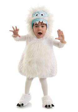 Disfraz infantil de monstruo de nieve