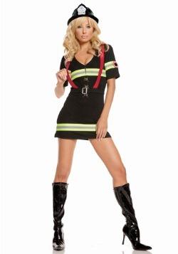 Disfraz de bombero Blazin Hot