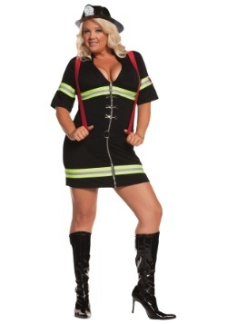 Disfraz de bombero sexy talla extra