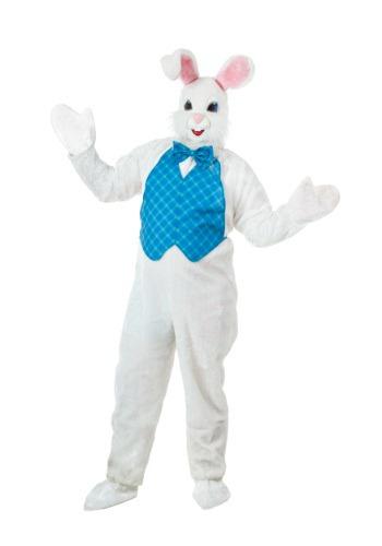 Disfraz de mascota conejito de Pascua talla extra