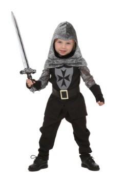 Disfraz de caballero valiente para niños pequeños