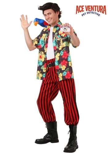 Disfraz de Ace Ventura con peluca
