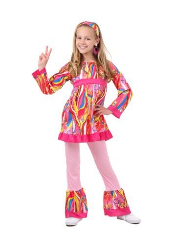 Disfraz infantil de camiseta y pantalón moda disco
