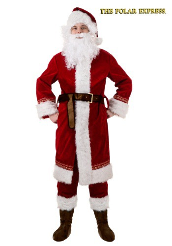 Disfraz de Santa del Expreso Polar para adulto
