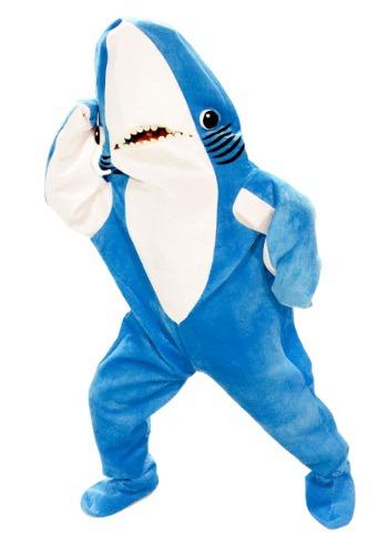 Disfraz de tiburón izquierdo de Katie Perry para adulto