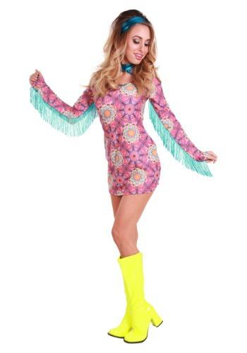 Disfraz de Verano de amor hippie para mujer