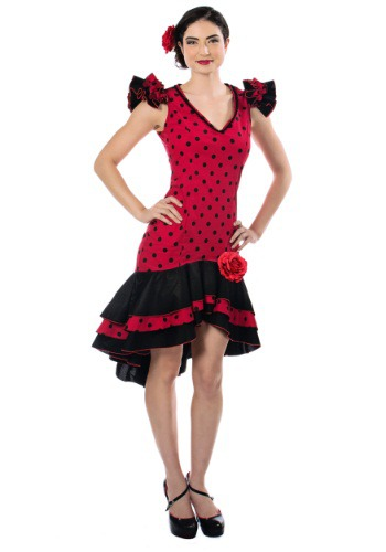 Disfraz de bailarina española para mujer